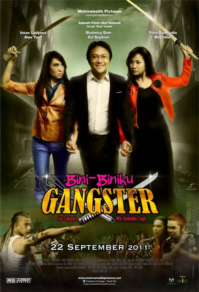 Bini Biniku Gangster 698x1024 Filem Bini Biniku Gangster