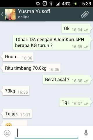 Berjaya Menurunkan Berat Badan 4