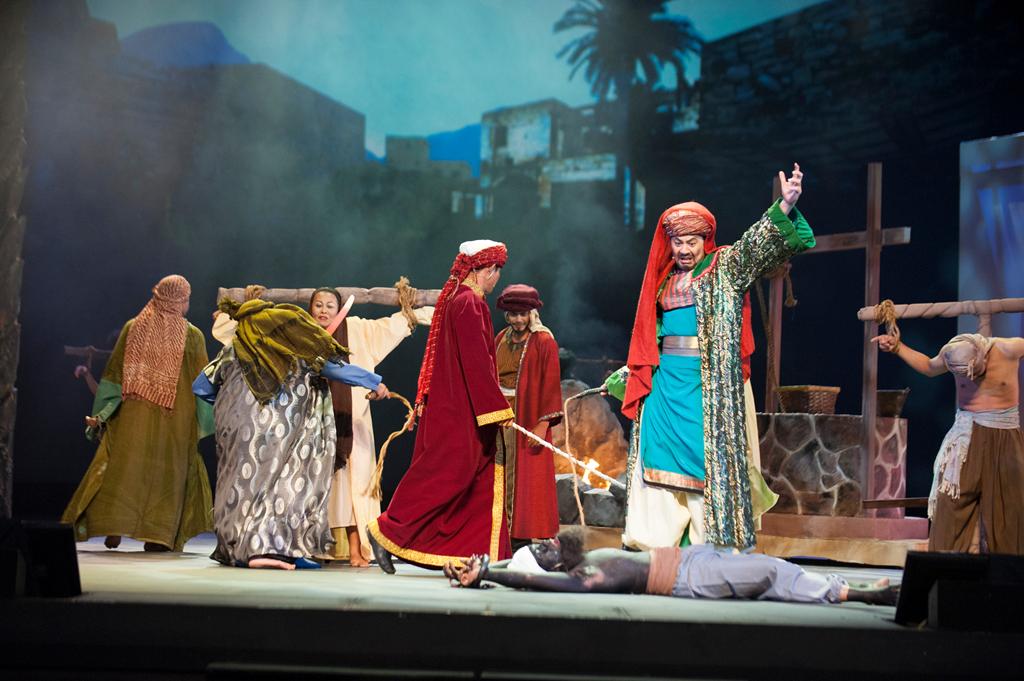 Teater Tahajjud Cinta Istana Budaya 1