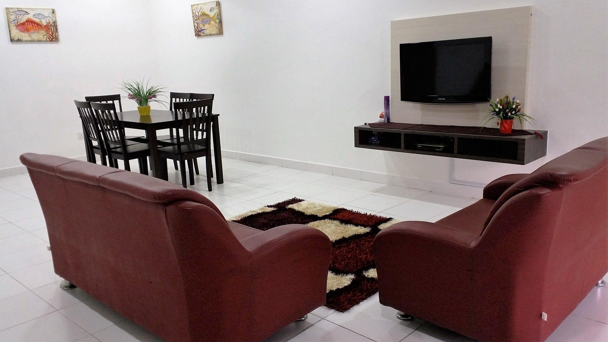 Homestay Tawakkal Nusa Bayu - Ruang Tamu 1a