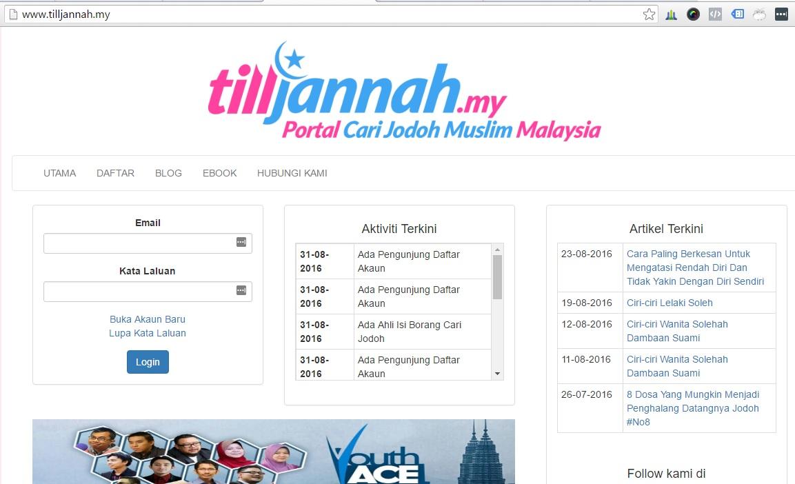 Portal Cari Jodoh Muslim di Malaysia