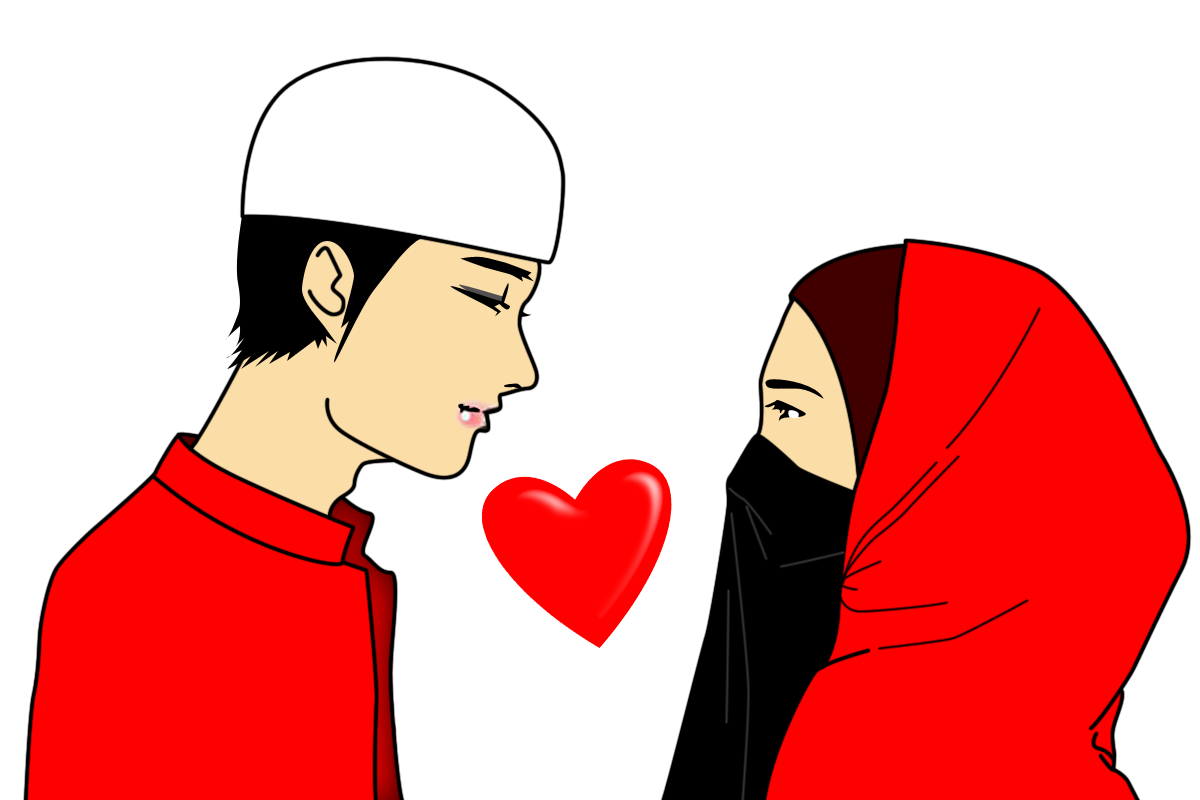 freebies suami isteri islam merah