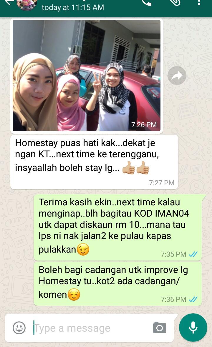 Homestay Murah Di Kuala Terengganu