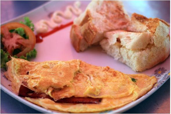 Omelet Makanan Sedap Di Penang