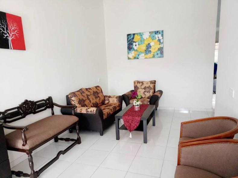 Ruang Tamu Homestay Murah di Penang