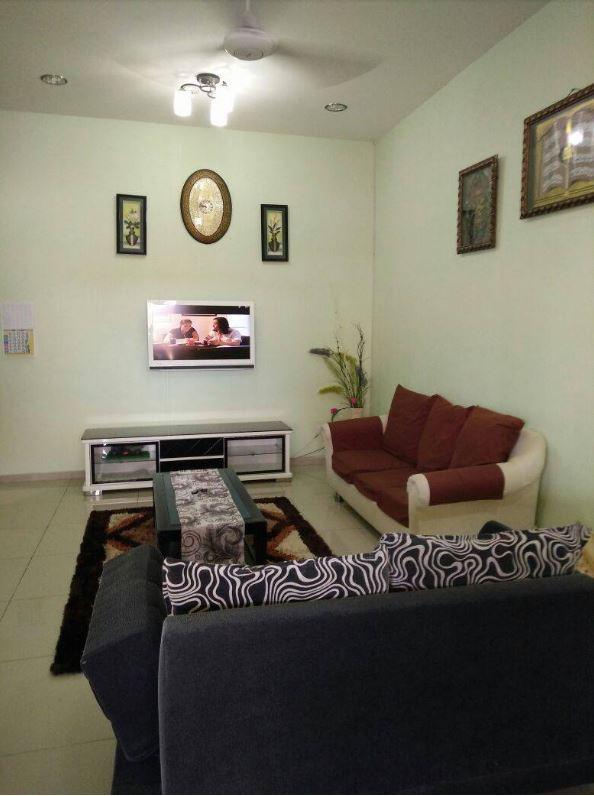 Ruang Tamu Homestay Melaka