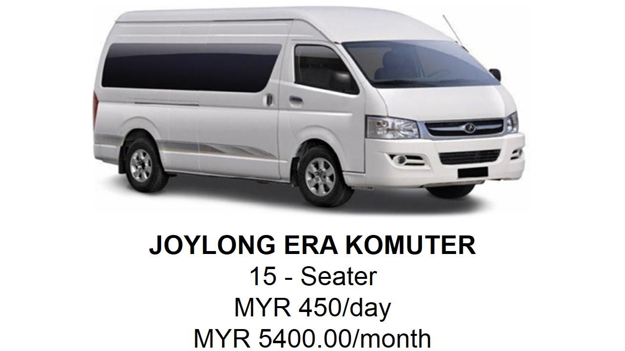 Sewa Van Kuala Lumpur Joylong Untuk 15 Orang
