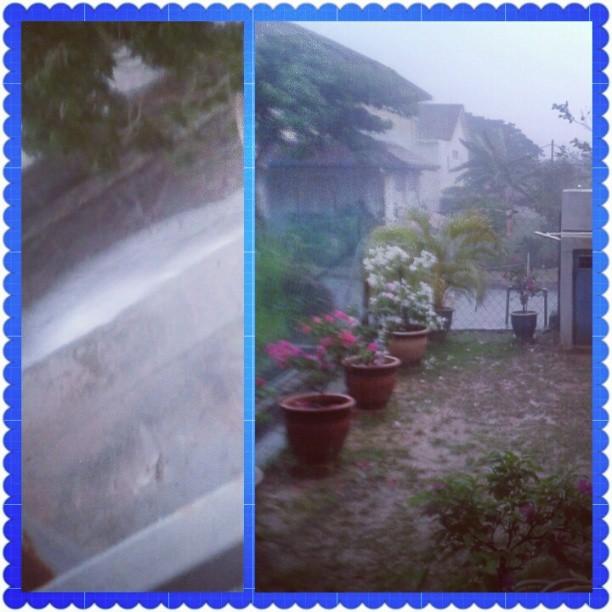 Hujan Berbuih-Buih