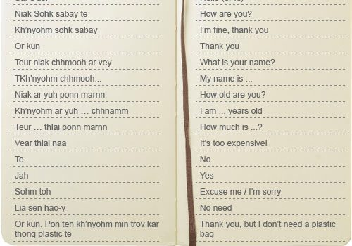 cambodia words phrases