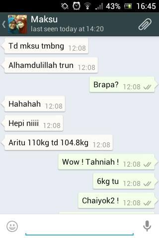 Berjaya Menurunkan Berat Badan 5