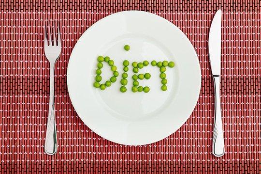 Nak kurus kena diet