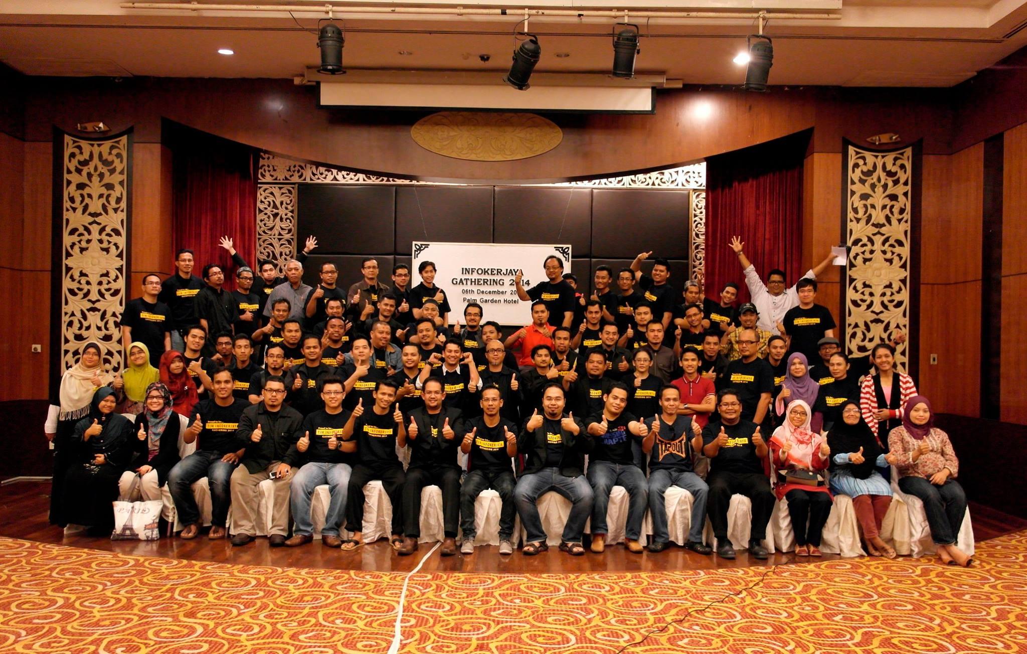 Gathering 2014 Tim Infokerjaya