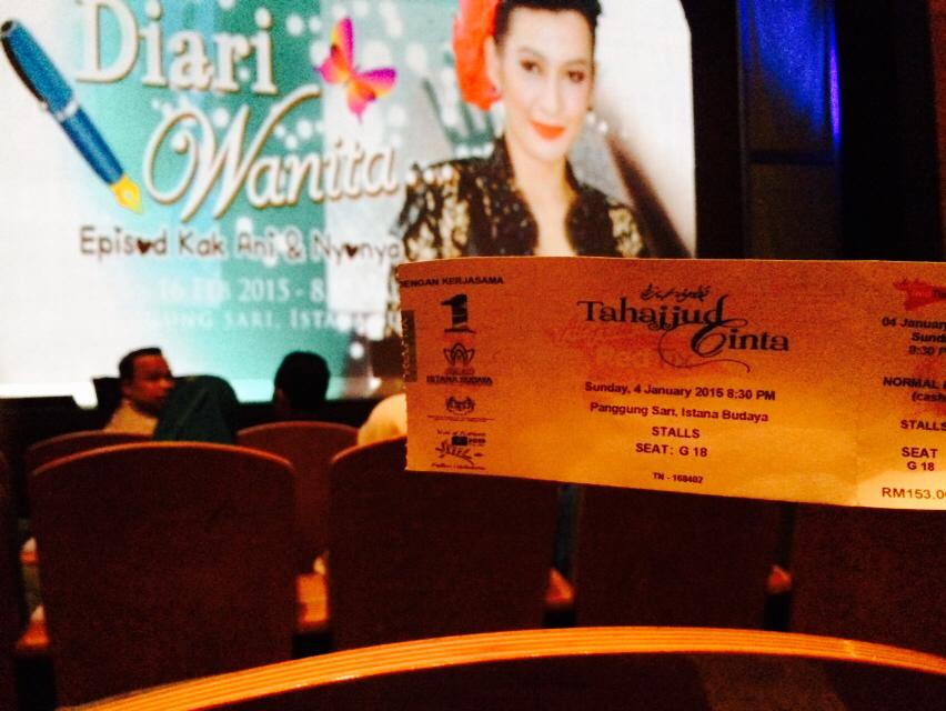 Teater Tahajjud Cinta Istana Budaya 5
