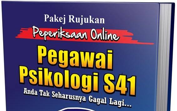 Rujukan Exam Online Pegawai Psikologi S41
