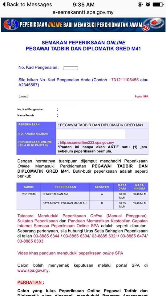 exam ptd 23 november 2016