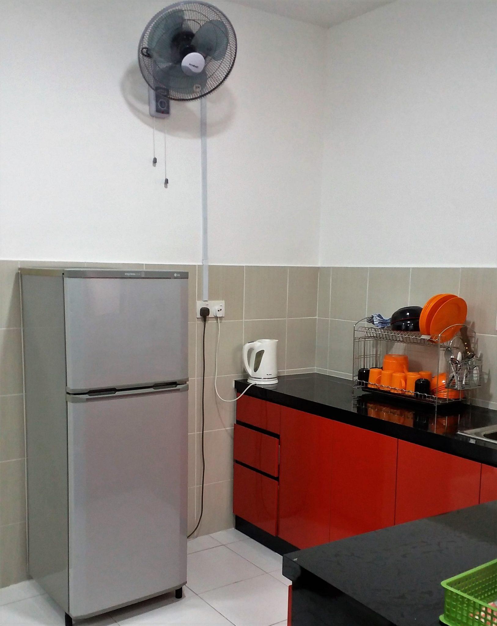Homestay Tawakkal Nusa Bayu - Dapur 1a