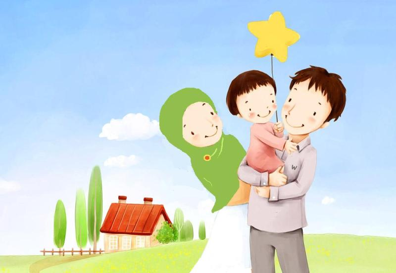 happy-muslim-family-cartoon