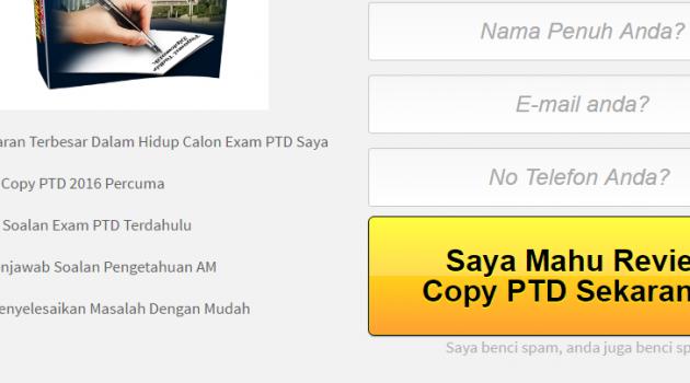 Rujukan Peperiksaan Online Exam PTD Gred M41