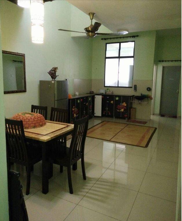 Ruang Makan Keluarga Homestay Melaka