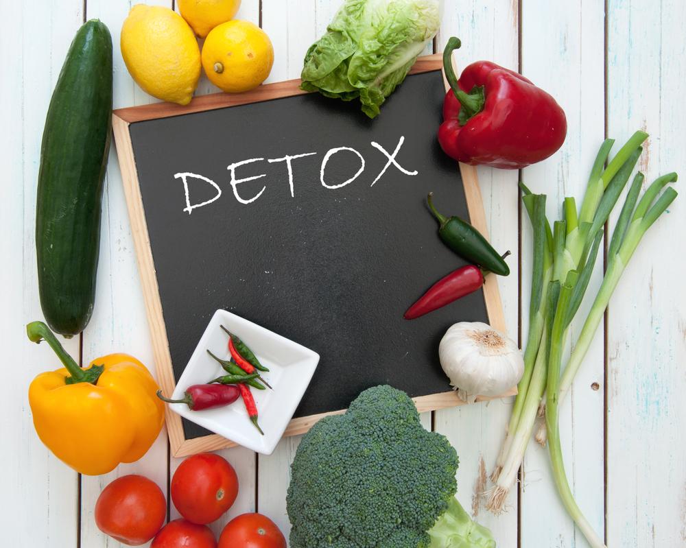 Detox tips kurus dalam sebulan