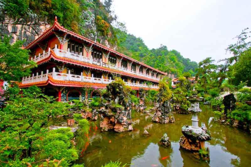 Kek Long Tong Cave Temple Ipoh Hotels