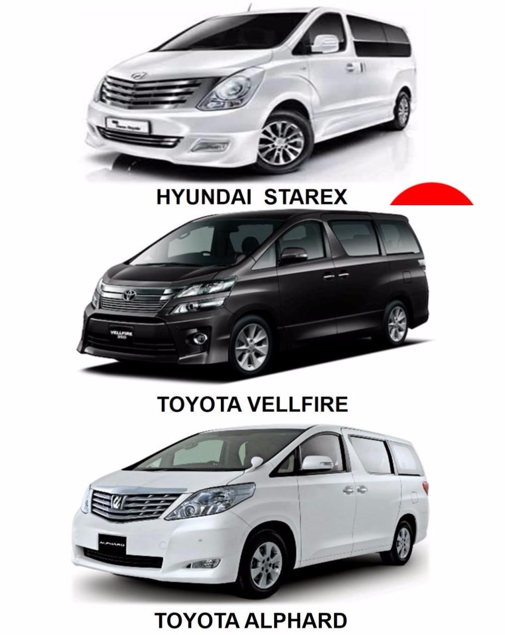 Luxury Minivan Sewa Kuala Lumpur