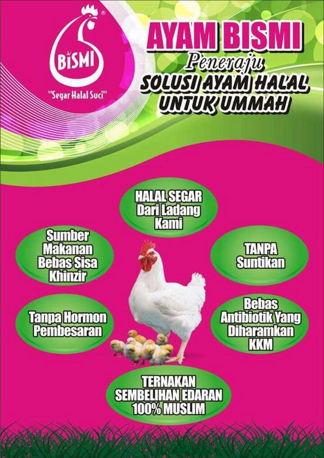 peneraju ayam halal malaysia