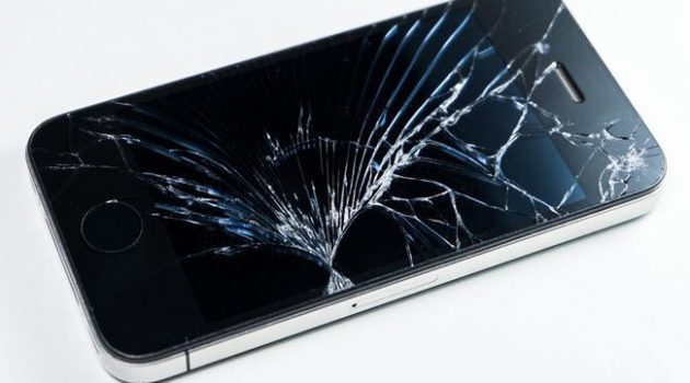 iPhone skrin pecah