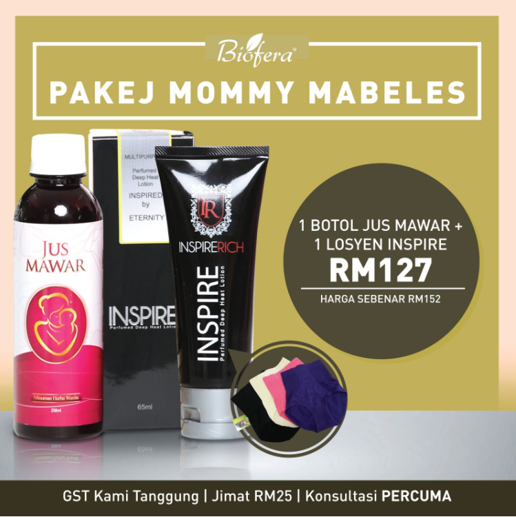 pakej mommy mabeles