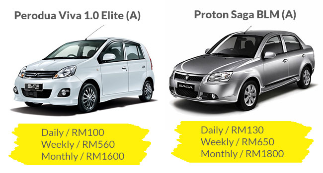 compact car rental sungai petani