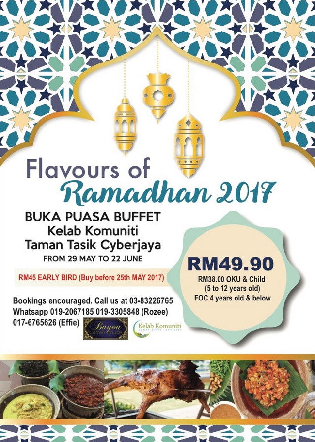 tempahan-buffet-putrajaya-2017-2018