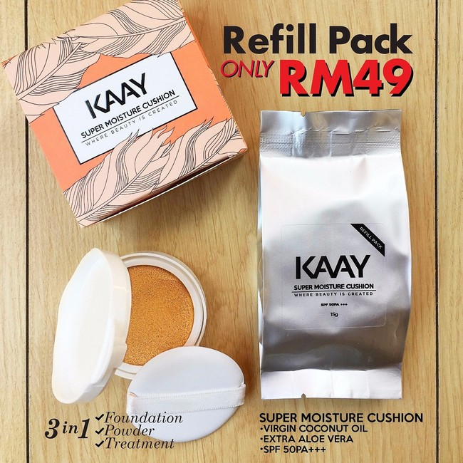 refill-pack-super-moisture-cushion-foundation Tips Hilangkan Kedut Muka
