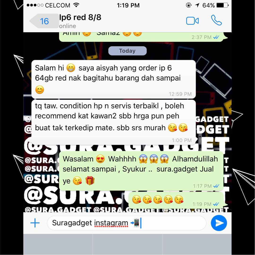 Testimoni Beli iPhone New Set Import
