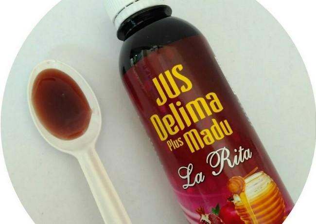 cara-minum-jus-delima-madu-plus-larita