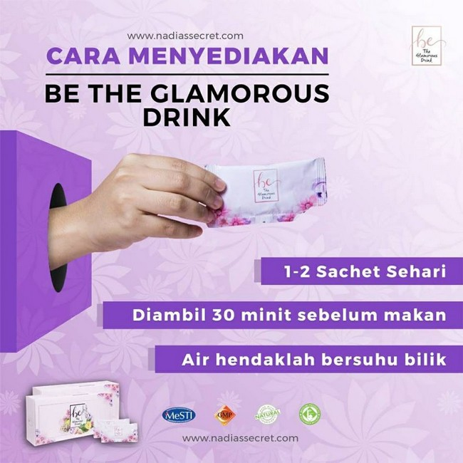 cara-penyediaan-be-the-glamorous-drink