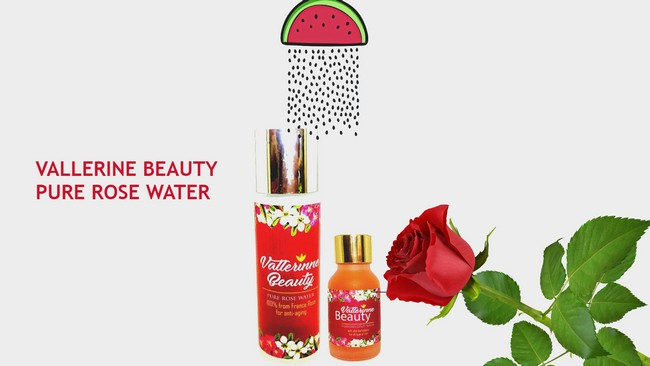 Vallerine-beauty-pure-rose-water