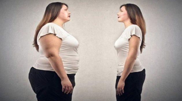 wanita gemuk kurus