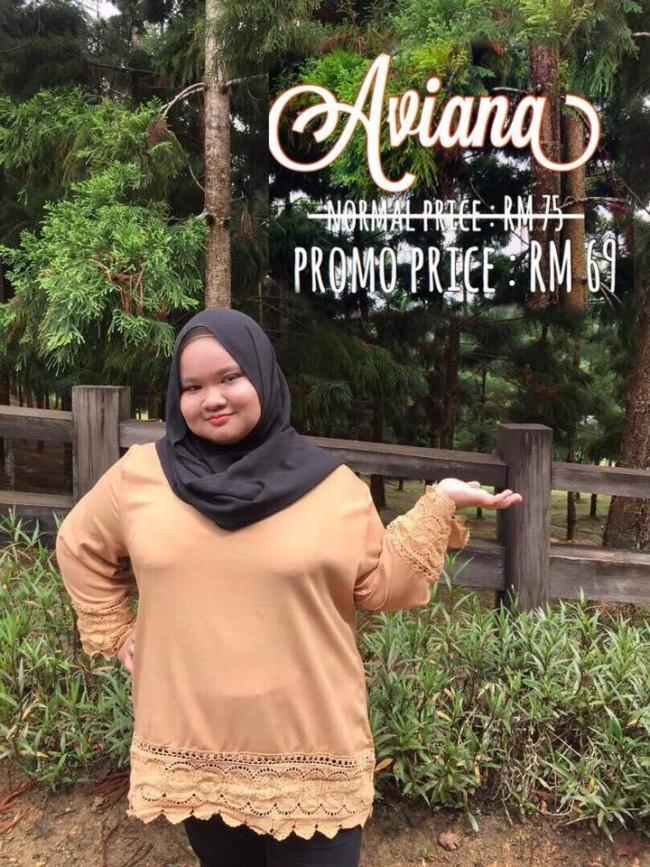 aviana koleksi plus size malaysia muslimah
