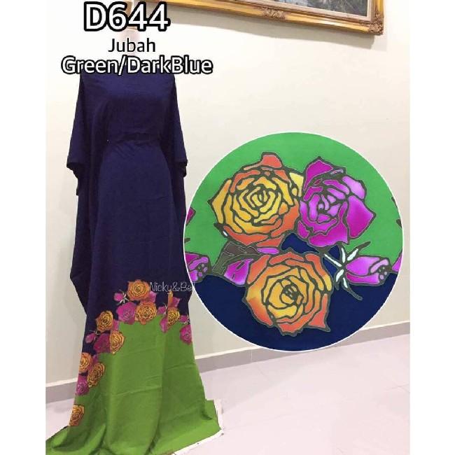 jenis-jubah-batik