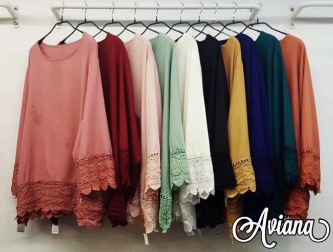 pilihan warna koleksi plus size malaysia