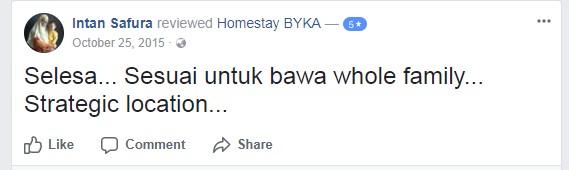 testimoni-3-homestay-bika-shah-alam