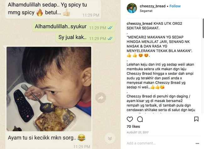 Cheezzy Bread Sedap di Johor Bahru 01