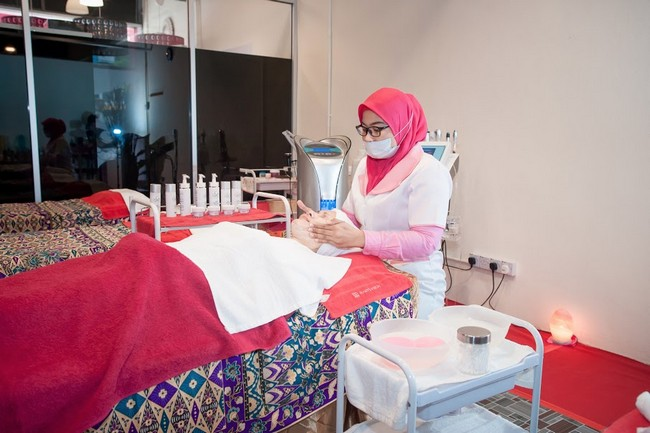 facial spa treatment in kuala terengganu 02