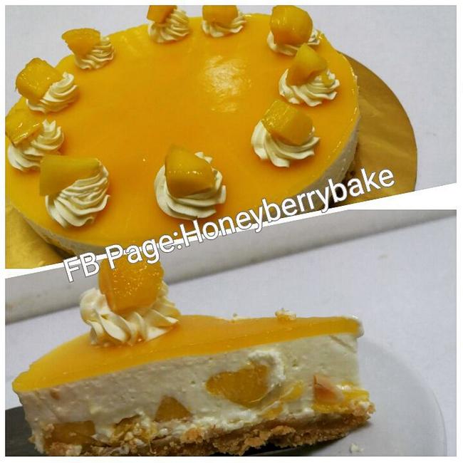 kek hasil kelas belajar kek honeyberry