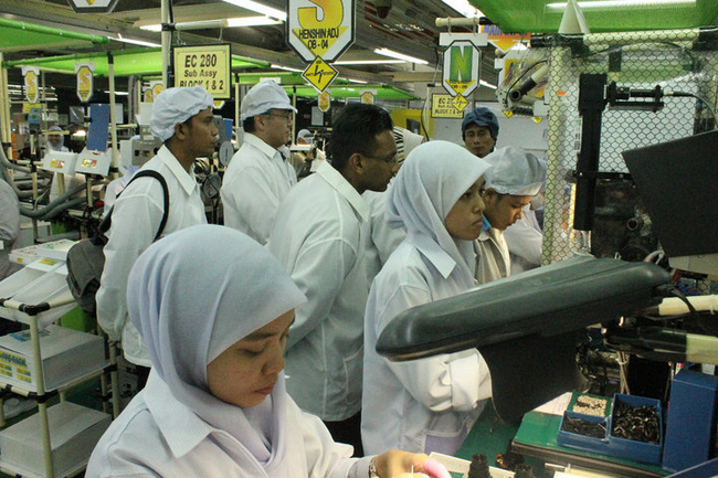 kisah pekerja kilang