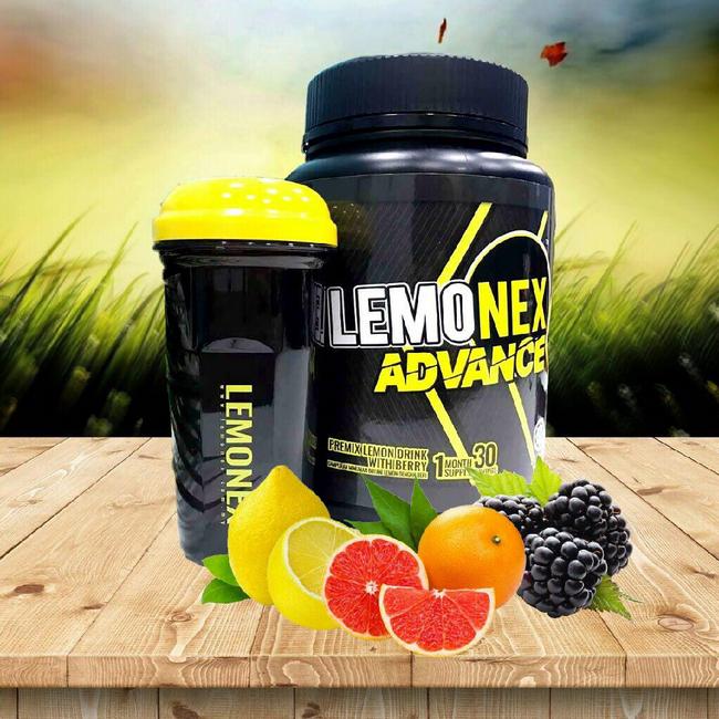 lemonex advanced kuruskan badan dengan pantas
