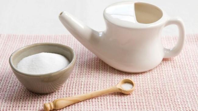 rawatan-resdung dengan neti pot