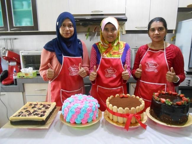 resepi kek coklat mudah 09