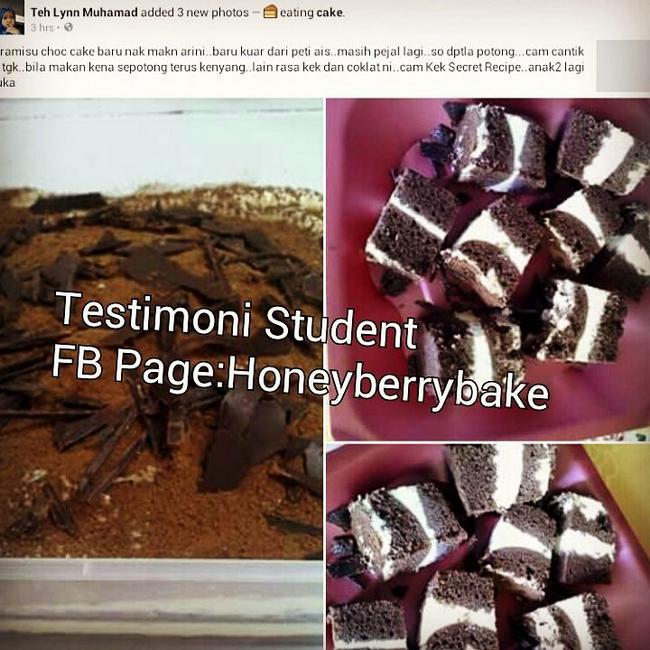 testimoni pelajar kelas kek coklat mudah (1)
