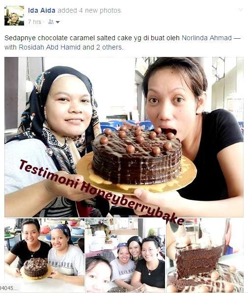 testimoni pelajar kelas kek coklat mudah (4)